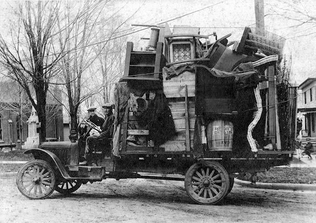 Vintage Moving Truck