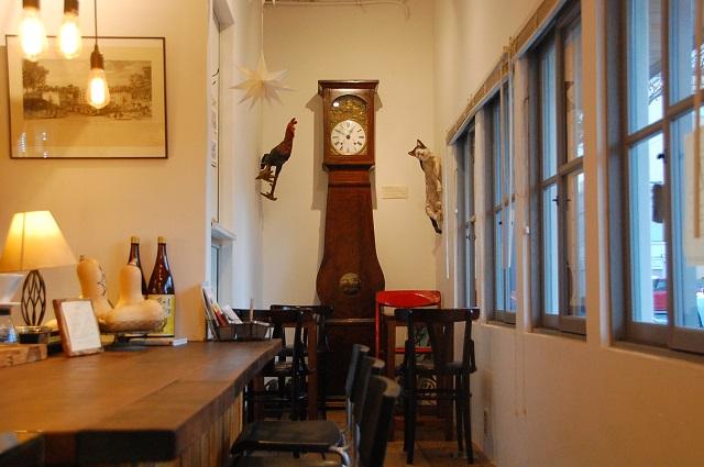 大きな柱時計