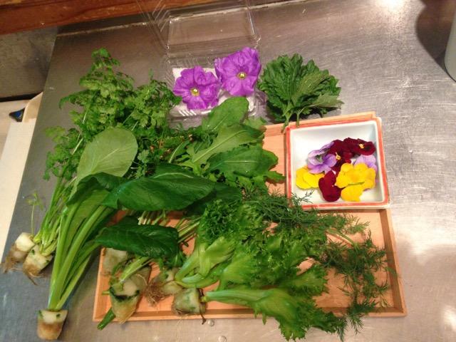 使う野菜たち