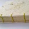 Handgeschöpftes Hanfpapier mit Tulpe