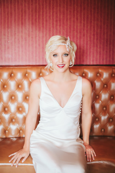 Great Gatsby Inspired Bridal Session With Lauren Peele