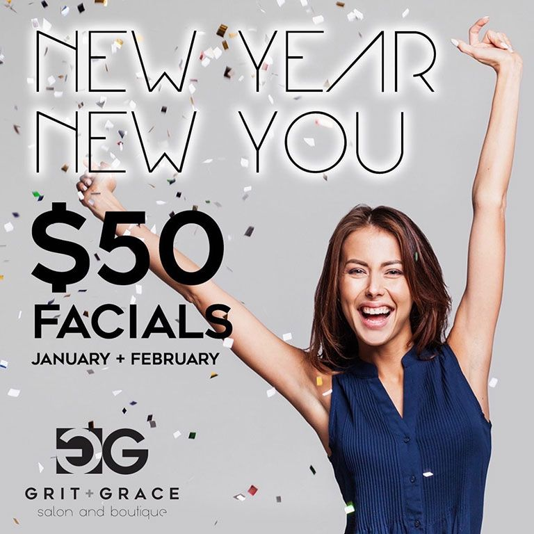 New Year New You Facials