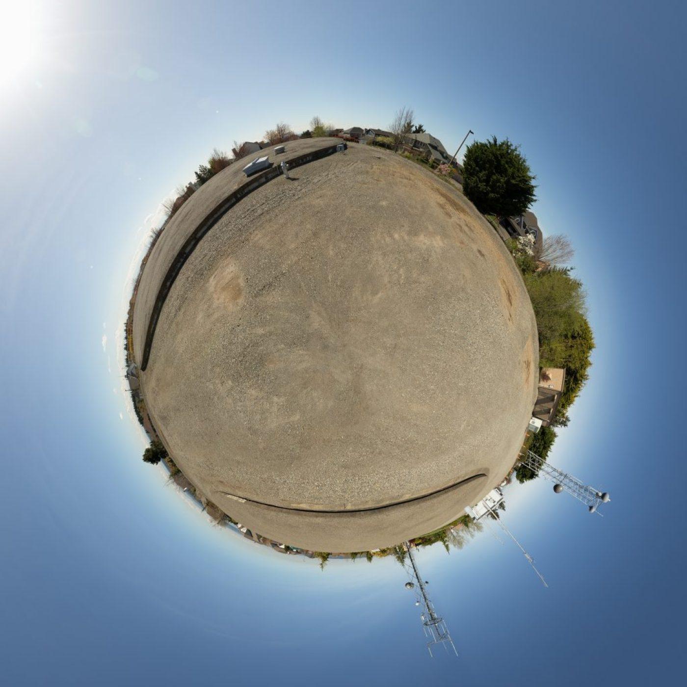Indian Hill globe