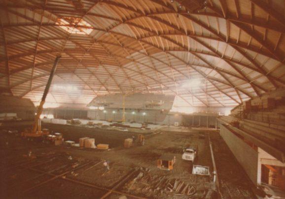 Tacoma Dome construction_11