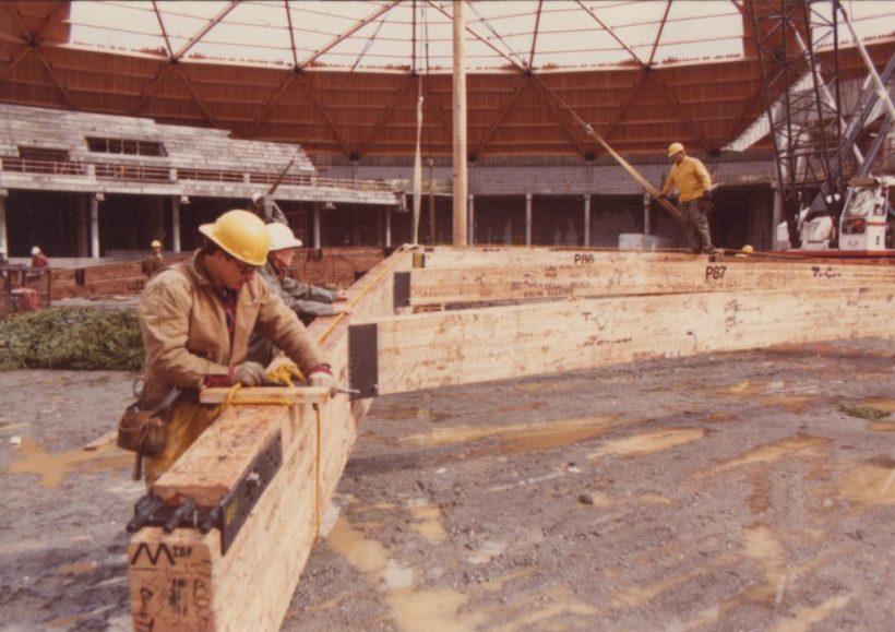 Tacoma Dome construction_14