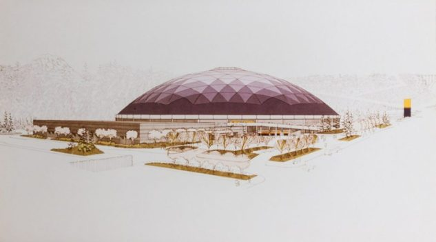 Tacoma Dome construction_27
