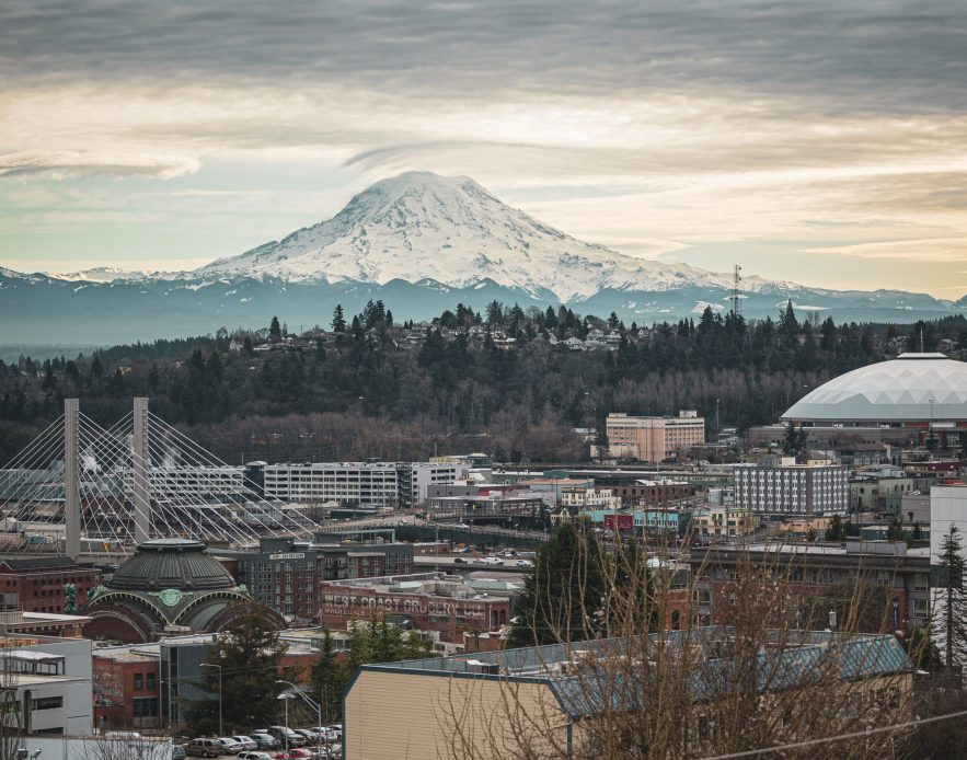 Rainier, Dome, and Downtown