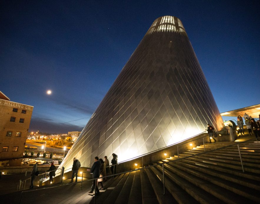 Museum of Glass Cone