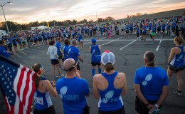Photo by Joe Barrentine for wear blue: run to remember.