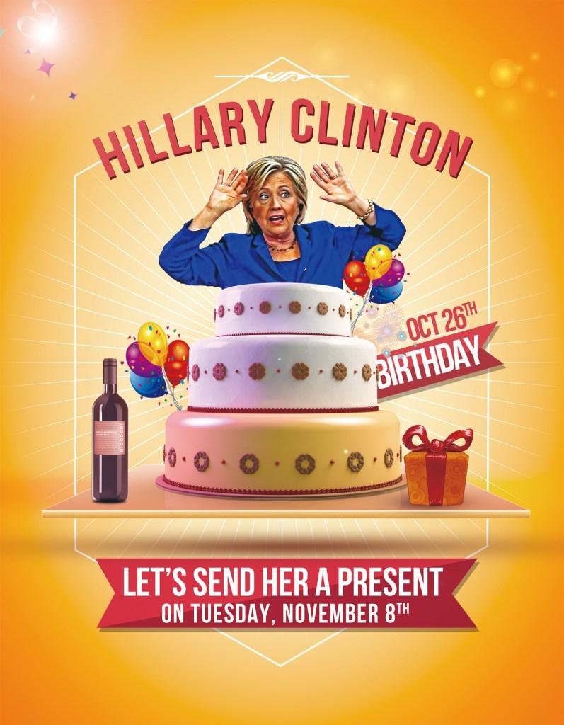Hillary's Birthday Card