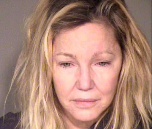 Heather Locklear Arrested A Second Time This Time For Assaulting