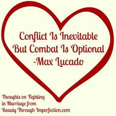 conflict inevitable