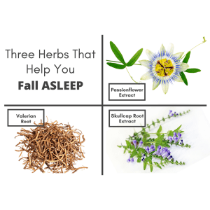 Utzy Naturals Three Herbs to help you Fall Asleep