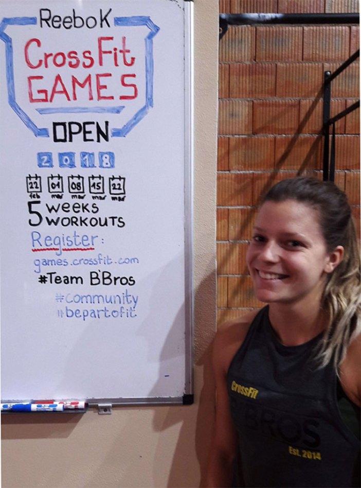 Laura Horvaht 2018 CrossFit Open