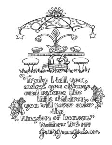 Bible Verse Coloring Pages — scripture printables from