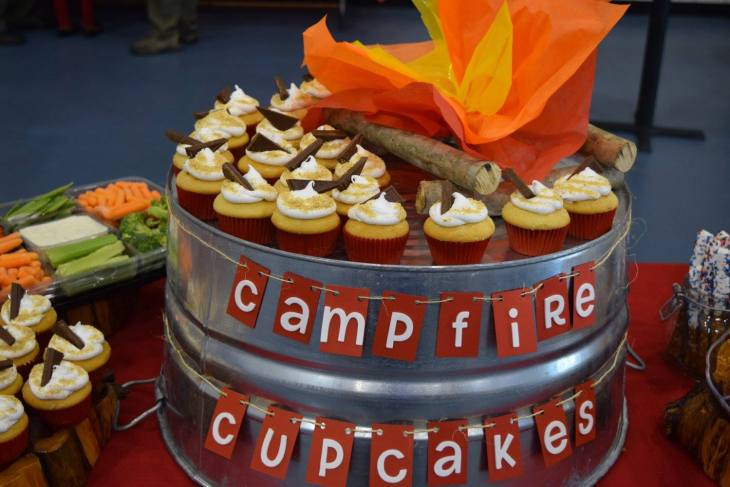 Campfire Cupcake tub only