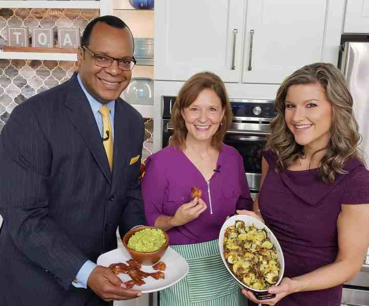 Wedell Edwards Sarah Snyder Kathleen Phillips Talk of Alabama Keto Sausage Squash Casserole