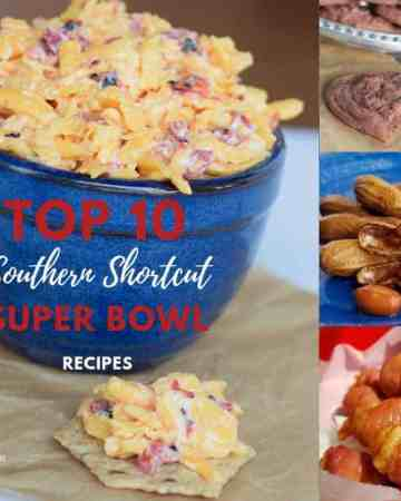 My Top 10 Super Bowl Southern Recipe Round Up including Instant Pot Boiled Peanuts