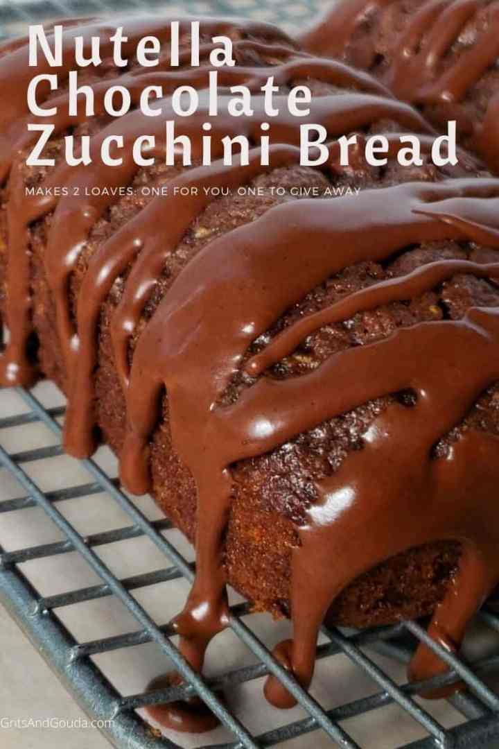 chocolate zucchini bread pinterest image