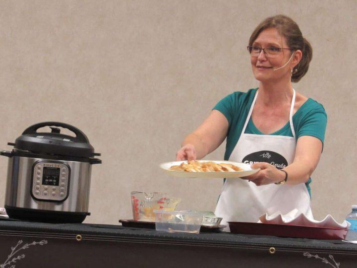 Kathleen Royal Phillips teaches Instant Pot classes