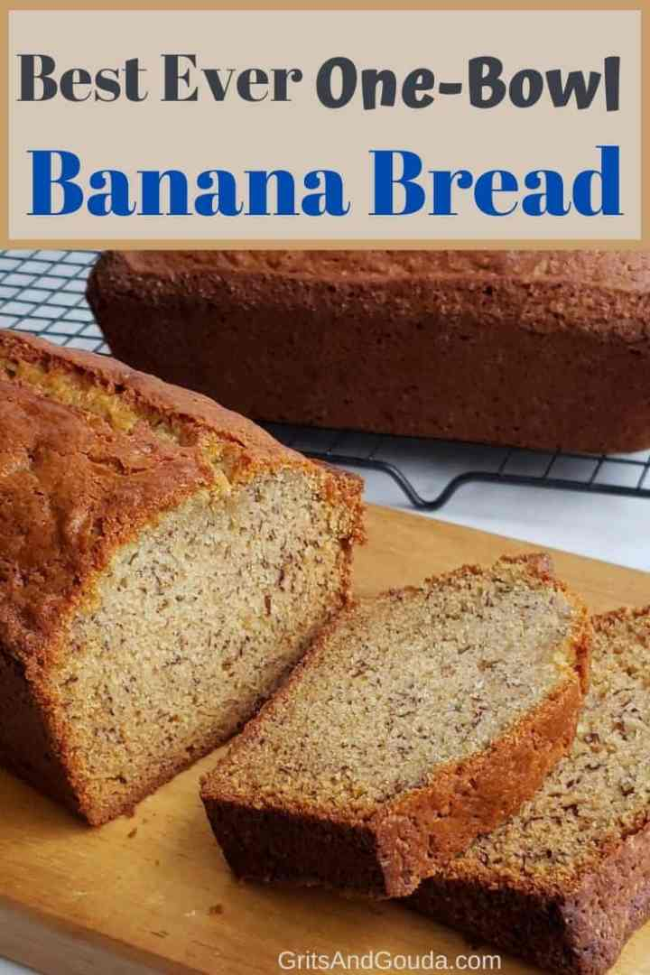 Pinterest banana bread pin