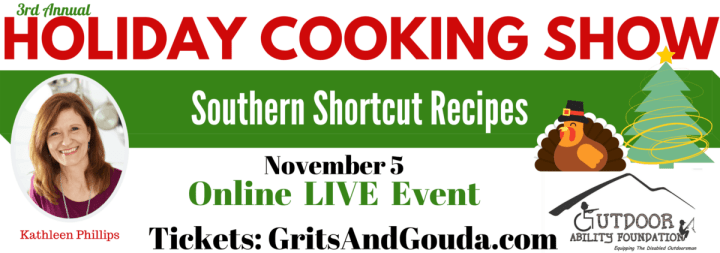 holiday cooking show banner