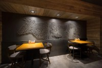 The Village restaurant interior design - Grits + Grids
