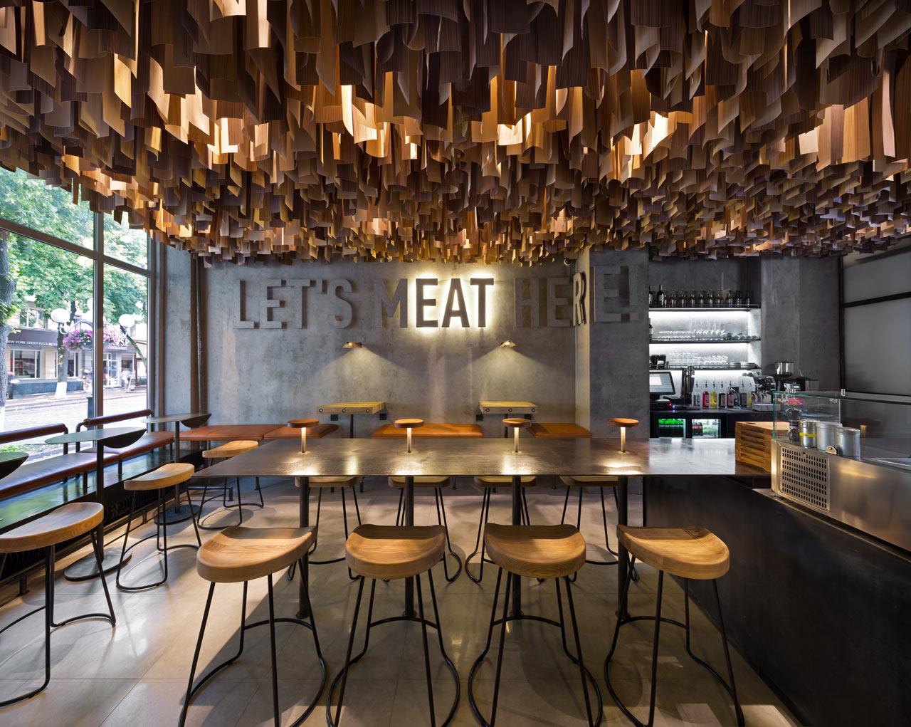 Shade Burger Restaurant Branding & Interior Design – Grits Grids