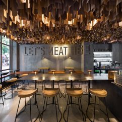 Hanging Chair Jeddah Baby Trend High Recall Shade Burger Restaurant Branding And Interior Design Grits