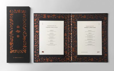 Scout Restaurant Branding & Menu Suite by Hum Creative Grits & Grids®