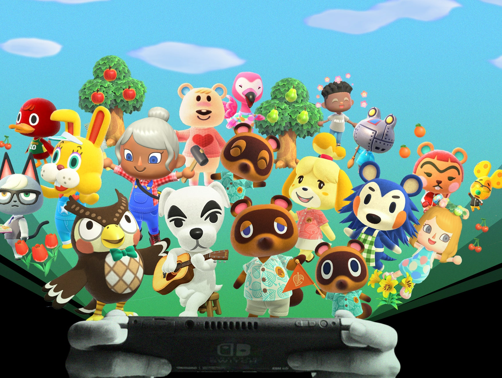 Animal Crossing New Horizons Is Now The 2nd Best Selling Nintendo