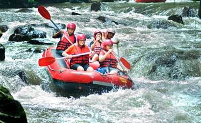 Bali Rafting with Griyasari Tours & Travel