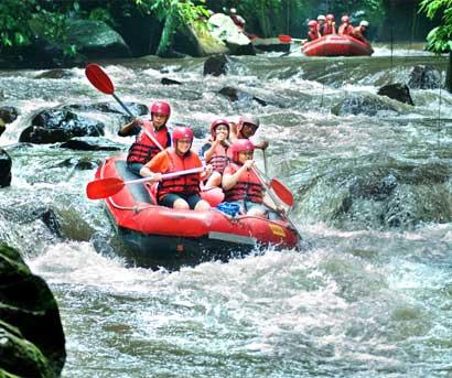 Bali Rafting with Griyasari Tours & Travel