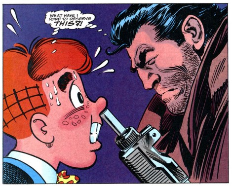 archie team ups meets punisher 2