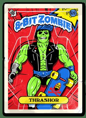 8 bit zombie homemade thrasher