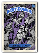 8 bit zombie monster tees