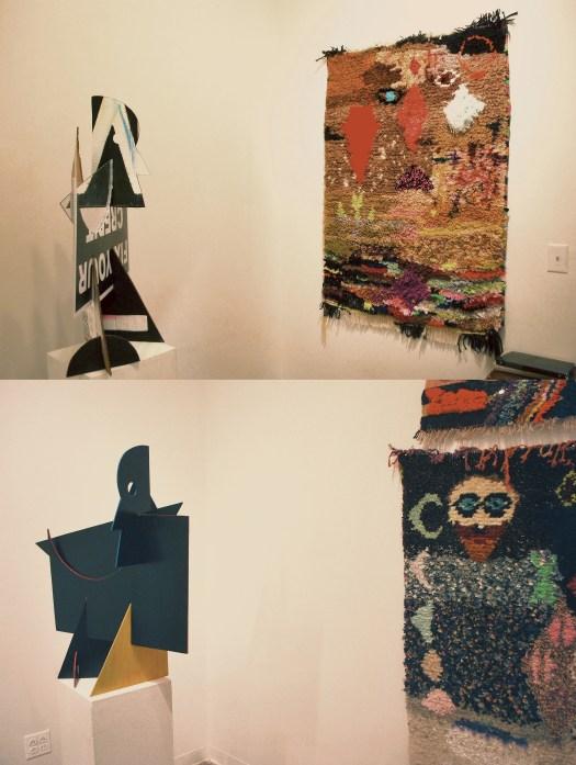 Reuben Lorch-Miller (Sculpture) Terra Fuller (Textiles)