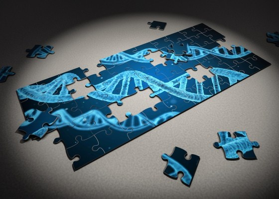 medicine and dna puzzle