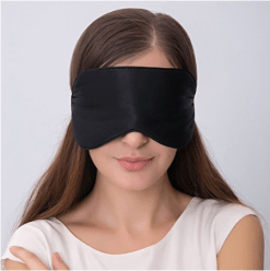 Sleep mask for falling asleep easier