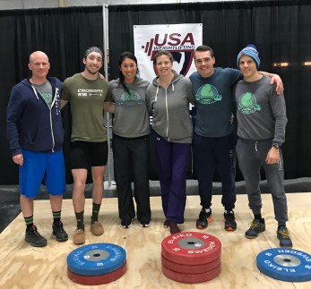 West Michigan Barbell Club at the Spartan Open Weightlifting Meet