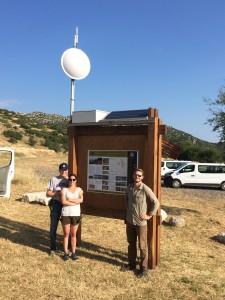Mt Lykaion 2016 high speed internet installation