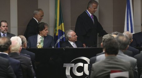 José Múcio toma posse no TCU e afirma que tribunal vai liderar pelo exemplo