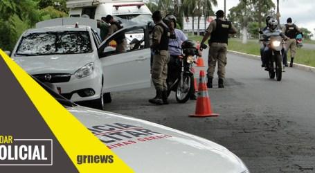 Condutor inabilitado, embriagado e com CRLV atrasado é preso no Providência