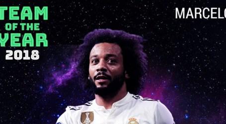 UEFA escala Marcelo na seleção dos melhores da Europa de 2018
