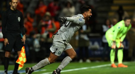 Renan Ribeiro brilha e coloca o Sporting na final da Taça da Liga