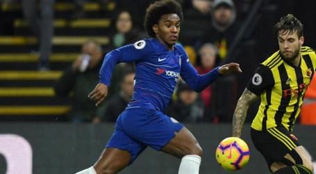 Willian exalta bom momento no Chelsea