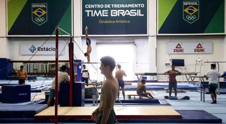 Ginastas brasileiros treinam de olho em Tóquio
