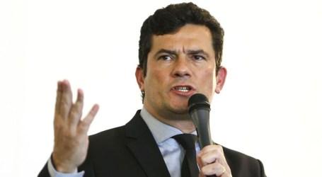 Sérgio Moro pede ao Congresso que se debruce em pacote anticrime