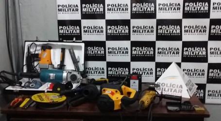 Presa quadrilha que assaltava supermercado em Divinópolis