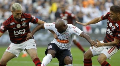 Corinthians e Flamengo empatam pela 11ª rodada do Brasileirão